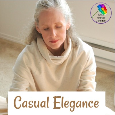 How to do Casual Elegance for the retired woman https://www.style-yourself-confident.com/how-to-style.html