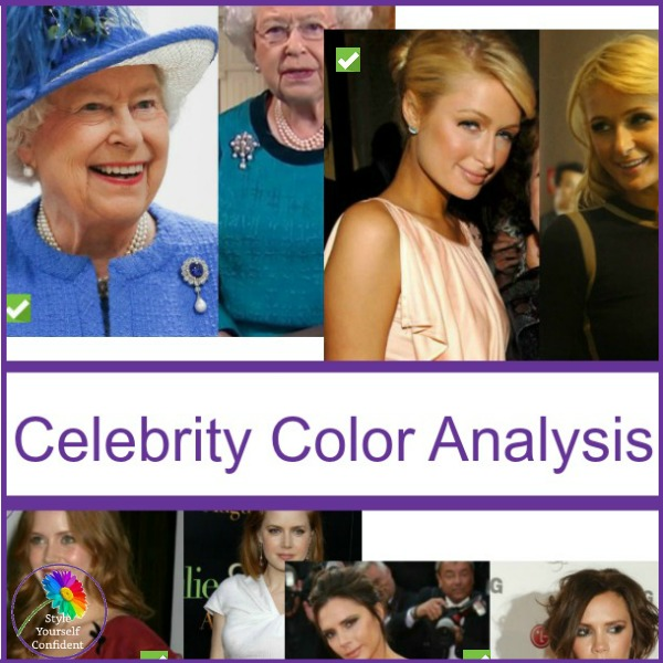 Celebrity Color Analysis #celebritycoloranalysis #coloranalysis  https://www.style-yourself-confident.com/celebrity-color-analysis.html