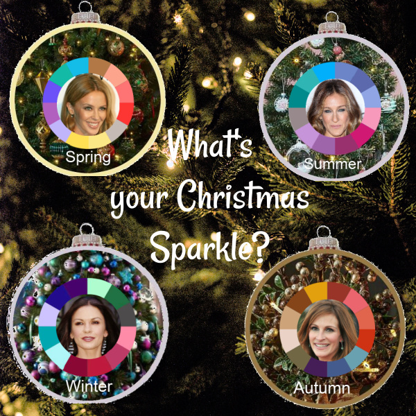 What's your Christmas sparkle? Silver or gold #Christmas decorations #Christmas silver #Christmas gold #Holiday decorations https://www.style-yourself-confident.com/christmas-sparkle.html