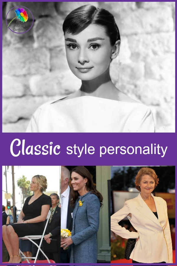 Classic style personality #classic style #audreyhepburn https://www.style-yourself-confident.com/classic-style-personality.html