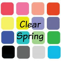 Spring is always Bright, Light and Warm #color analysis #Spring #bright spring https://www.style-yourself-confident.com/clear-spring.html