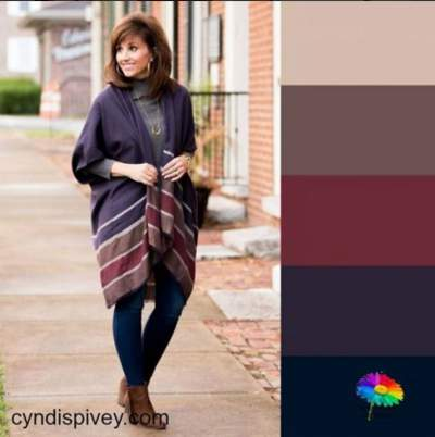 Color palette style #coloranalysis #colorpalette https://www.style-yourself-confident.com
