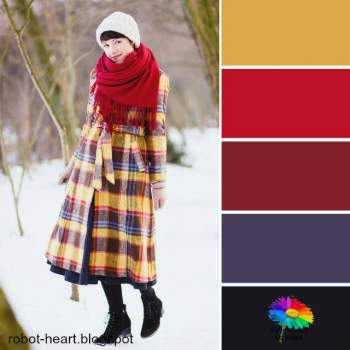 Color palette style #coloranalysis #colorpalette http://www.style-yourself-confident.com