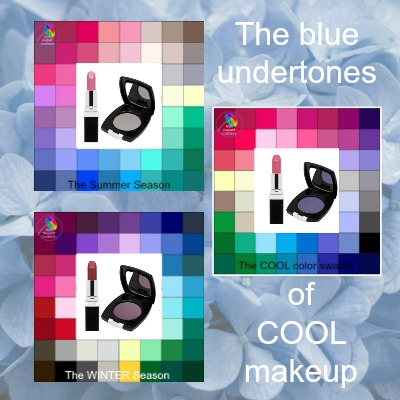 Cool makeup to complement Cool skin tones #coolmakeup https://www.style-yourself-confident.com/cool-makeup.html
