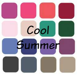 Summer is always Cool, always Light and always Soft.  #soft summer #summer coloring #color analysis https://www.style-yourself-confident.com/cool-summer.html
