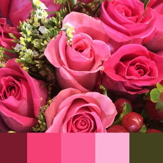 Choosing Cool toned flowers probably means that you have a Cool skin tone #cool skin tone #cool makeup http://www.style-yourself-confident.com/warm-or-cool-skin.html