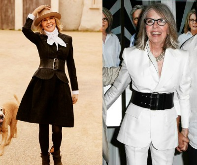 Creative style personality #creative style #Diane Keaton https://www.style-yourself-confident.com/creative-style-personality.html
