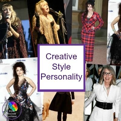 Creative Style Personality #creativestyle #stylepersonality #stevienicks #helenabonhamcarter https://www.style-yourself-confident.com/creative-style-personality.html