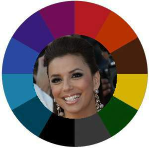 Find your best colors #color analysis #tonal color families #Eva Longoria https://www.style-yourself-confident.com/find-your-best-colors.html