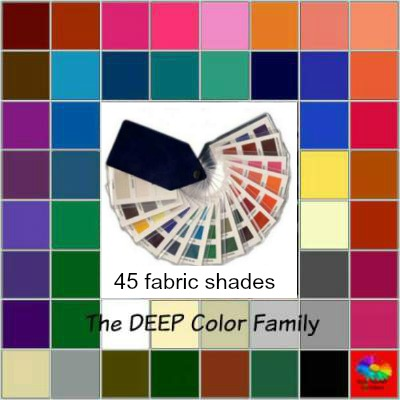 Deep tonal coloring #Deep color family #color analysis swatch https://www.style-yourself-confident.com/deep-tonal-coloring.htm