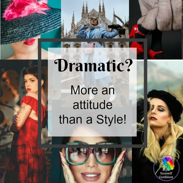 Dramatic style personality #dramatic style #Sharon Osbourne https://www.style-yourself-confident.com/dramatic-style-personality.html