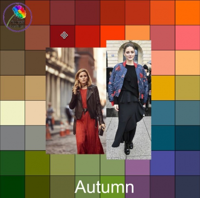 Wearing black with Autumn colors https://www.style-yourself-confident.com/wearing-black-with-autumn.html #autumncolors #wearingblack
