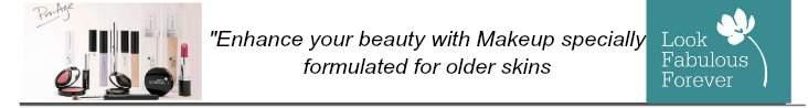 Look Fabulous Forever makeup formulated for older skins