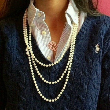 How to wear pearls casually #wearpearls #casualpearls https://www.style-yourself-confident.com/wear-pearls-casually.html