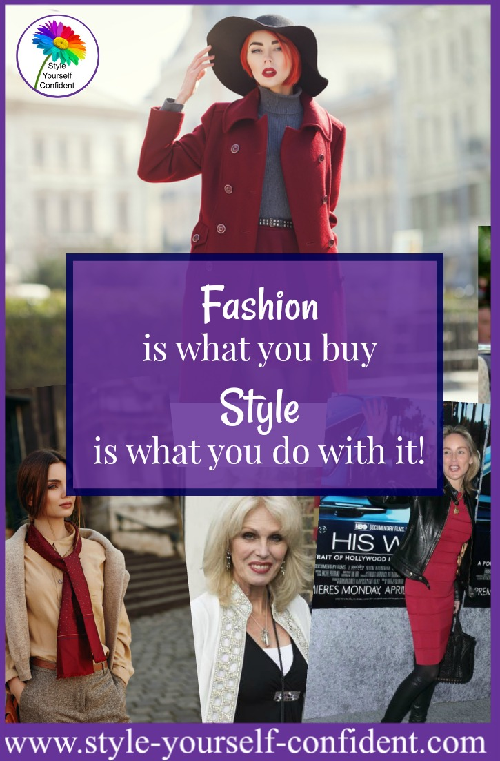 Learning how to style your basics in different ways allows you to create more outfits and everything can earn it's keep www.style-yourself-confident.com/how-to-style.html