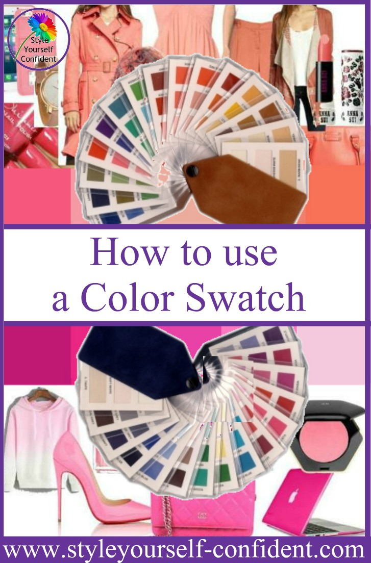 How to use your Color Swatch whether it's Tonal or Seasonal #colorswatch  https://www.style-yourself-confident.com/how-to-use-your-color-swatch.html