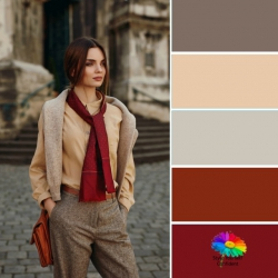 Color analysis in nature #color analysis #body shape #style makeover  https://www.style-yourself-confident.com/your-style-042
