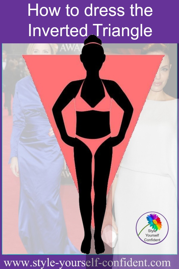 Inverted triangle body shape #inverted triangle body https://www.style-yourself-confident.com/inverted-triangle-body-shape.html