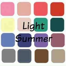 Light Summer? whatever is that? Summer is always is Light, always Cool and always Muted #Summer #color analysis #light summer  https://www.style-yourself-confident.com/light-summer.html