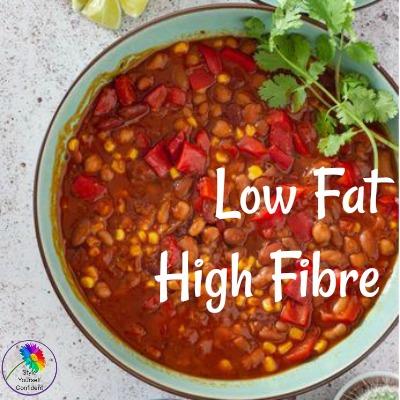 Low Fat High Fibre #lowfathighfibre #lowfat #highfibre #healthyeating https://www.style-yourself-confident.com/low-fat-high-fibre.html