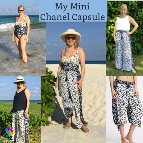 Create a Mini Chanel Capsule like mine   #chanel #capsulewardrobe https://www.style-yourself-confident.com/mini-chanel-capsule.html