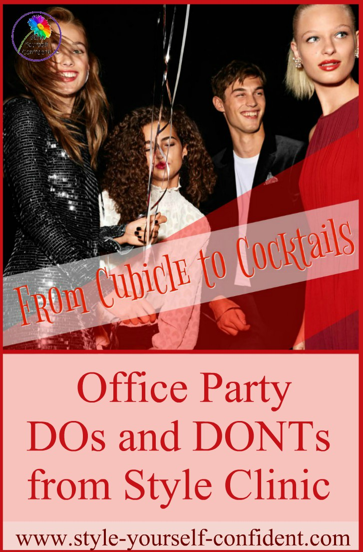 Dress for the office party  http://www.style-yourself-confident.com/dress-for-the-office-party.html