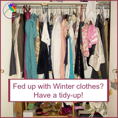Organize your wardrobe - time for a tidy up! #wardrobeorganization #closetcare https://www.style-yourself-confident.com/organize-your-wardrobe.html
