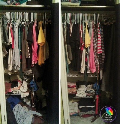 Organize your wardrobe #wardrobe planning  #tidy your wardrobe http://www.style-yourself-confident.com/organize-your-wardrobe.html