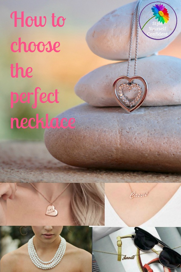 How to choose the perfect necklace #chooseanecklace #necklace shape https://www.style-yourself-confident.com/choose-the-perfect-necklace.html