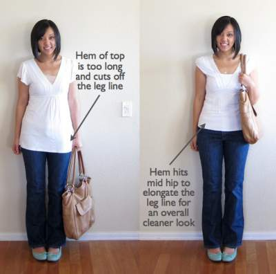 Petite body styling tips #petite  http://www.style-yourself-confident.com/petite-body-shape-style-tips.html