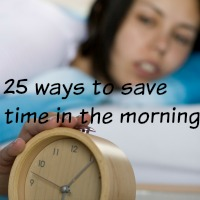 25 ways to save time in the mornings #save time #well groomed #polished and groomed #morning routine http://www.style-yourself-confident.com/save-time-in-the-morning.html