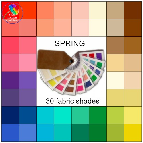 Seasonal color analysis Spring #Spring season  https://www.style-yourself-confident.com/seasonal-color-analysis-spring.html