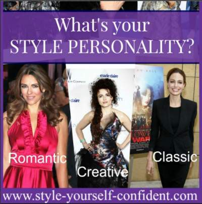 Style Personality #stylepersonality  https://www.style-yourself-confident.com/style-personality.html