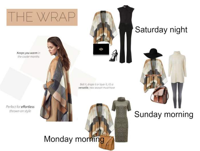 Style the wrap - an elegant coverup for any occasion #style the wrap  http://www.style-yourself-confident.com/style-the-wrap.html