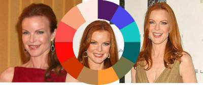 The Warm palette has both soft and stronger shades