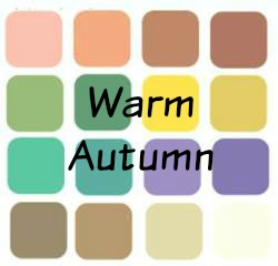 Autumn is always Warm, always Deep and always Muted.  #color analysis #Autumn color family #warm autumn https://www.style-yourself-confident.com/warm-autumn.html