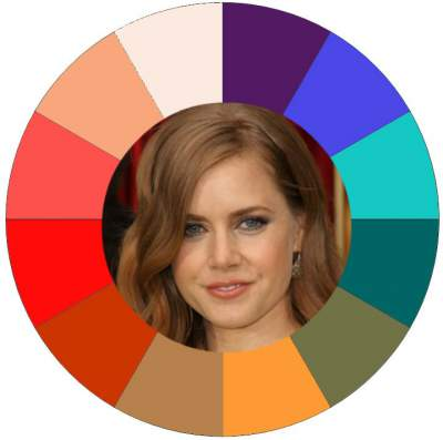 Warm color family #Warm color family #Amy Adams http://www.style-yourself-confident.com/warm-tonal-coloring.html