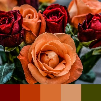 Choosing warm colored flowers probably means that you have a Warm skin tone #warm coloring #warm makeup  https://www.style-yourself-confident.com/warm-skin-tone.html