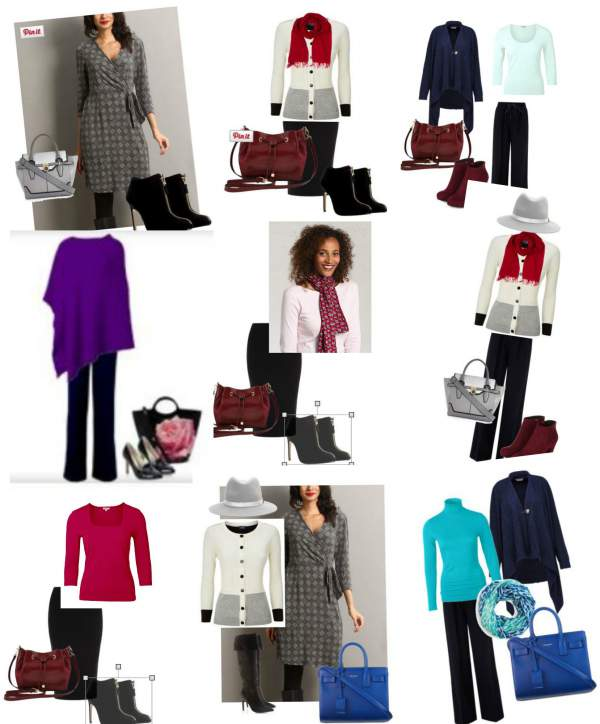 Capsule wardrobe for Winter coloring #capsule wardrobe #Winter coloring  http://www.style-yourself-confident.com/capsule-wardrobe-for-winter.html