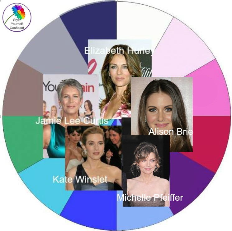 Color analysis COOL celebrities - #Cool color analysis https://www.style-yourself-confident.com/color-analysis-cool.html
