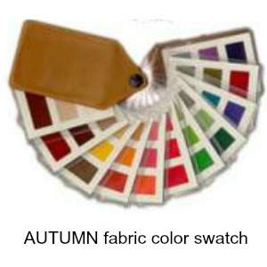 Autumn color swatch #color analysis #autumn swatch https://www.style-yourself-confident.com/color-analysis-swatch.html