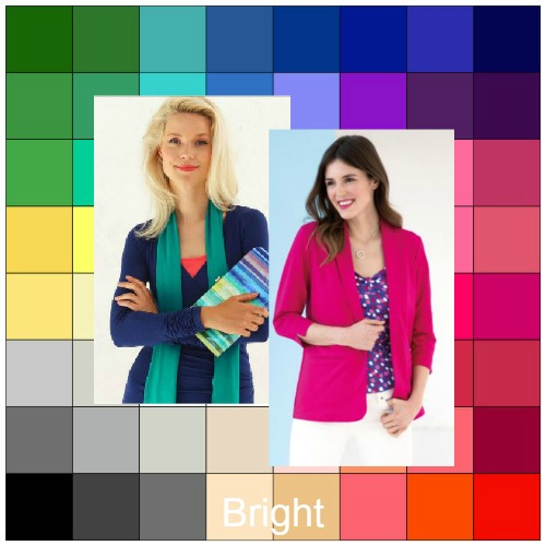 Bright tonal coloring #brighttonal #tonalcoloranalysis #brightcolors https://www.style-yourself-confident.com/bright-tonal-coloring.html