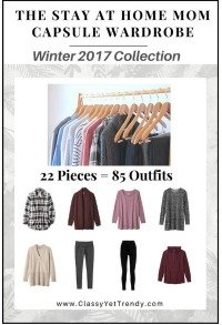 The Stay-at-Home Mom Capsule Wardrobe - 26 items = 100 outfits https://transactions.sendowl.com/stores/6399/29996