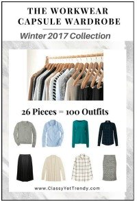 The Workwear Capsule Wardrobe for Winter 2017 #capsule wardrobe #Workwear capsule wardrobe https://transactions.sendowl.com/stores/6398/29996