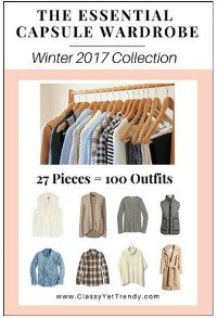 The Essential Capsule Wardrobe for Winter 2017 #capsule wardrobe #professional capsule https://transactions.sendowl.com/stores/6107/29996