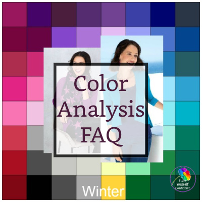 Color Analysis FAQ #coloranalysisfaq #coloranalysis https://www.style-yourself-confident.com/color-analysis-faq.html