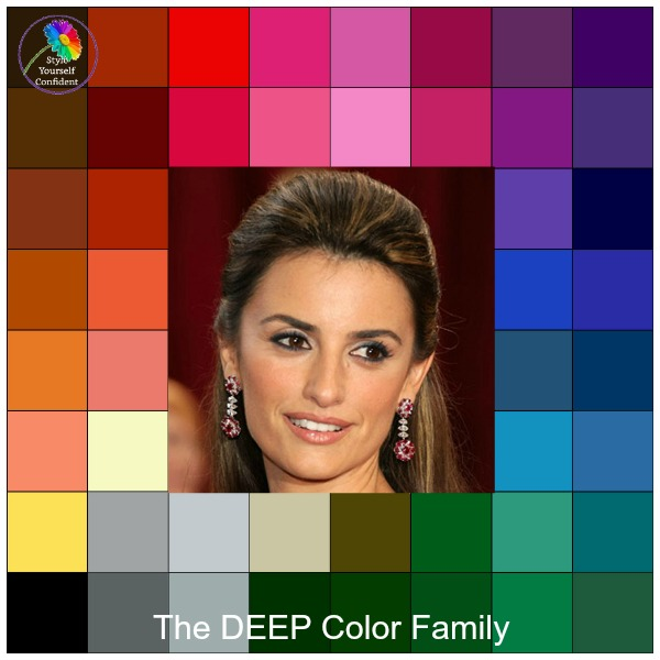 Color Analysis and Style #coloranalysis https://www.style-yourself-confident.com/your-style-082.html