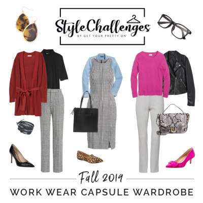 GYPO Fall / Autumn Workwear Capsule 2019  #gypostylechallenge #capsulewardrobe #autumncapsule #fallcapsule #workwearcapsule https://www.style-yourself-confident.com/gypo-style-challenge.html