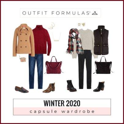 Winter Capsule Wardrobe 2020 #wintercapsule #capsulewardrobe https://www.style-yourself-confident.com/gypo-style-challenge.html