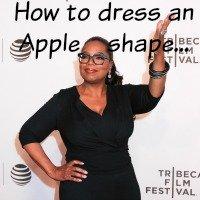 Apple body shape #apple shape  http://www.style-yourself-confident.com/apple-body-shape.html
